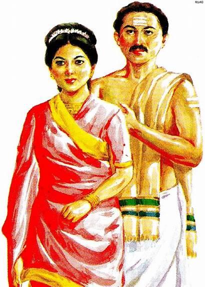 Tamilnadu Tamil Nadu Clipart Dressing Culture Costumes