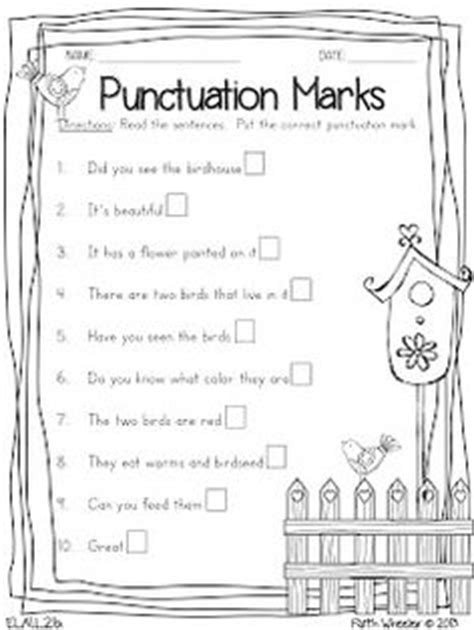 1000 images about k 3 punctuation on