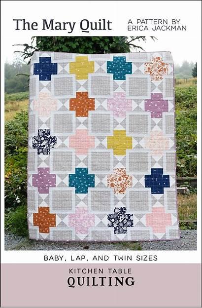 Mary Quilt Quilting Pattern Pdf Patterns Kitchen