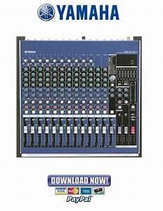Yamaha Mg16  6fx Mixing Console Service Manual  U0026 Repair