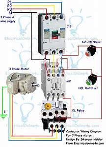 3 Way Wiring Diagram Contactor