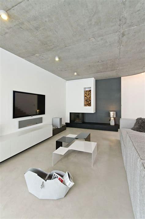 modern  chic concrete home decor ideas digsdigs