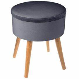 poufs et banquettes pifmarket With the home deco factory hd3400 coffre pouf pliable noir 3