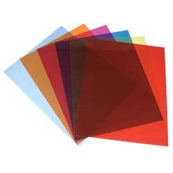 d駻ouleur cuisine feuilles plastiques transparentes de couleur par 5