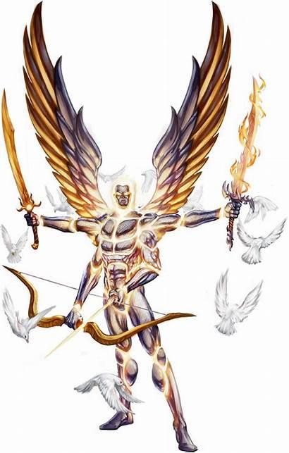 Angel Pathfinder Creatures Herald Sunlord Creature Sarenrae