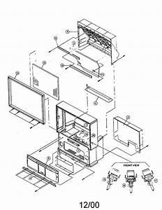Schematic Diagram Hitachi 51f520 Projection Color Tv