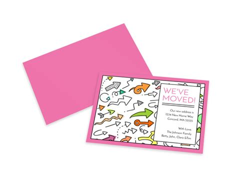 Announce we've moved! with change of address cards. We've Moved Card Template | MyCreativeShop