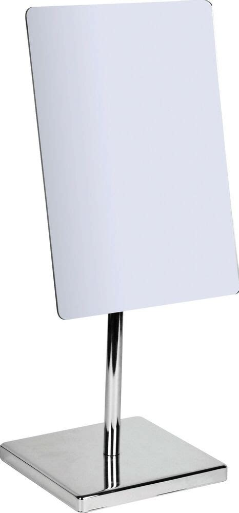 Bathroom Mirror Free Standing by Large Chrome Modern Free Standing Pedestal Cosmetic
