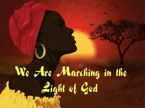 In Light Of What We by We Are Marching In The Light Of God
