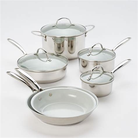 food network  pc nonstick ceramic cookware set