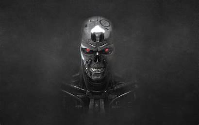 Terminator Endoskull Desktop Widescreen Pc Movies Vividscreen