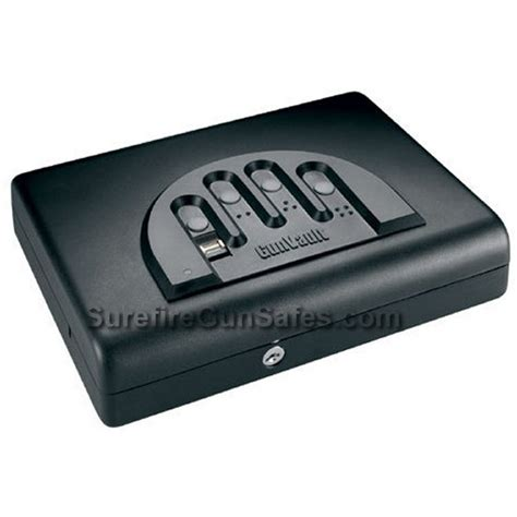 Biometric Gun Safe Nightstand by 11x8 5 Quot Gunvault Mvb500 Micro Vault Biometric Pistol Safe
