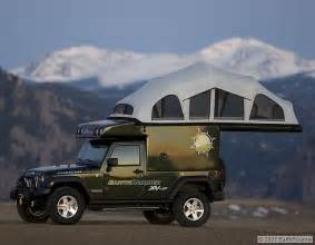 Jeep Wrangler Tent Camper