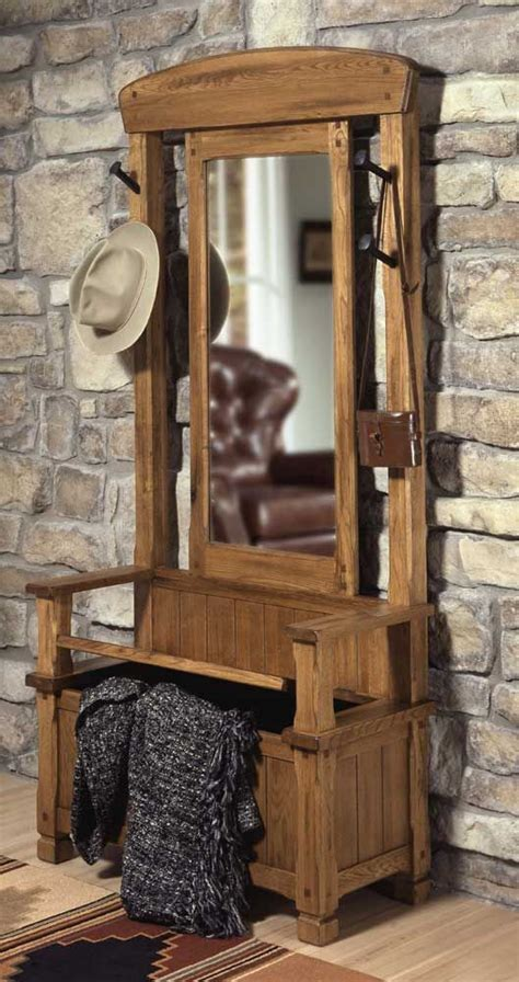entry room mirror hall tree images  pinterest