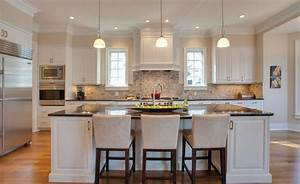 elbow park traditional kitchen calgary by caniela With kitchen colors with white cabinets with national park wall art