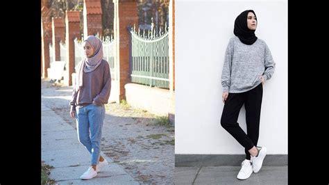 ootd hijab casual remaja youtube