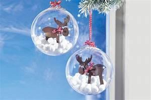 Weihnachtskugeln Selbst Gestalten : weihnachtskugeln mit fr hlichen elchen bastelshop und ~ Lizthompson.info Haus und Dekorationen