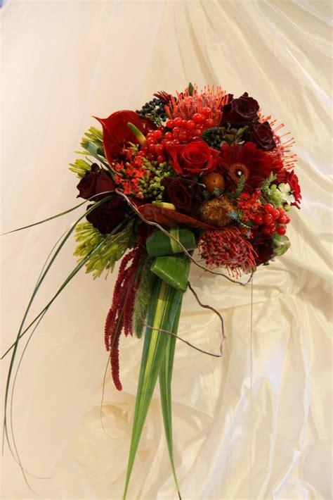flower magician  jewels  autumn wedding bouquet