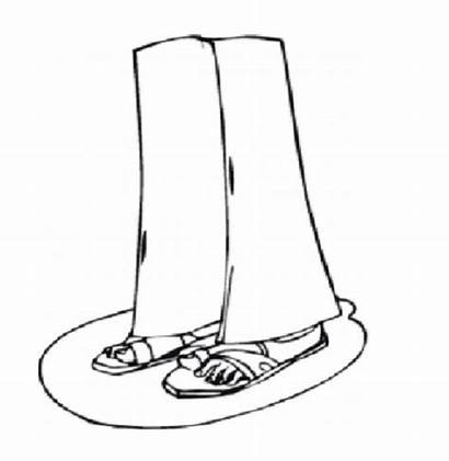 Coloring Pages Legs Feet Printable Colouring