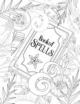 coloring book  shadows book  spells magical recipes