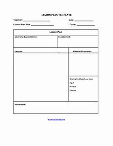 efl lesson plan template - lesson plan template five step lesson plan template