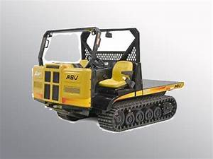 Asv Sc50 Rubber Track Utility Vehicle Service Repair