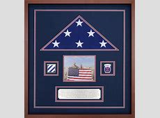 Custom Flag Frame For A Flag Flown During Operation
