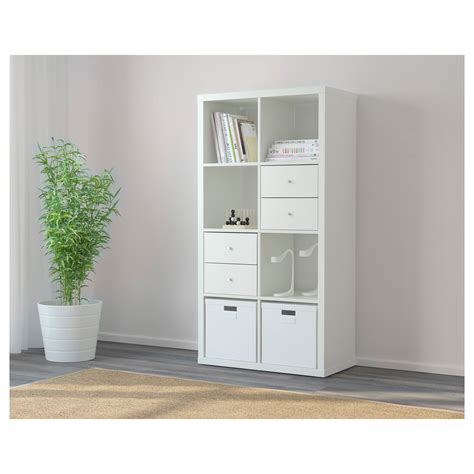 white storage unit ikea kallax shelving unit white 77x147 cm ikea