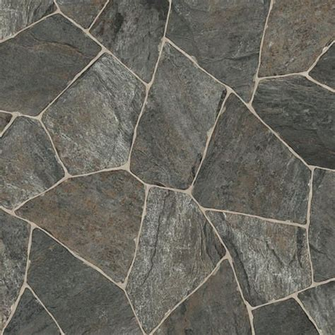 IVC Impact Sheet Vinyl Flooring Slate Charcoal 97   12ft