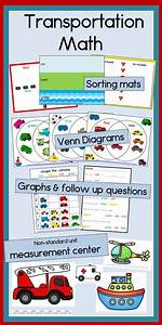 Transportation Math With Graphing  Sorting  Venn Diagrams