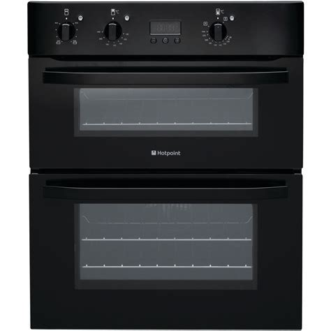 Hotpoint built under double oven black ? Kitchen and