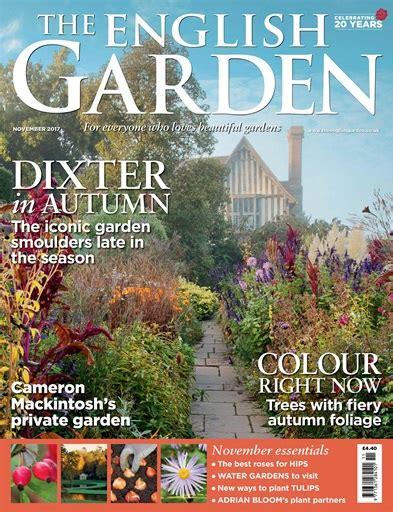 Garden Magazine by The Garden Magazine November 2017 Subscriptions