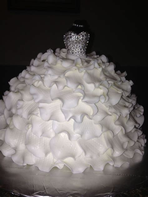 bridal shower cake cakecentralcom