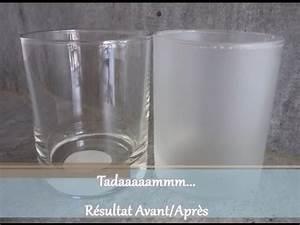 Comment Faire Du Verre : comment obtenir un effet givr sur du verre youtube ~ Melissatoandfro.com Idées de Décoration
