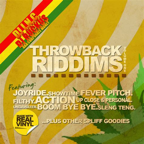 Various Artists  Throwback Riddims Vol 1 Hosted By Inc