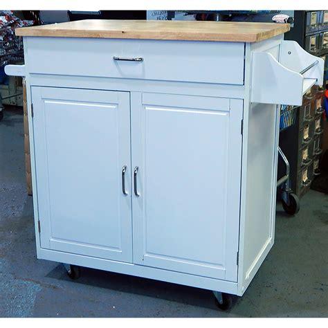 white kitchen island on wheels menard portable kitchen island cart with wheels white