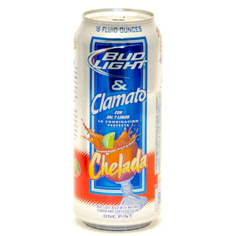 bud light and clamato bud light clamato chelada 16oz can beer wine and