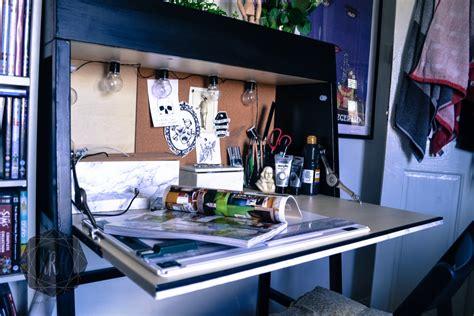 ikea ps 2014 desk makeover orange to minimalist ikea