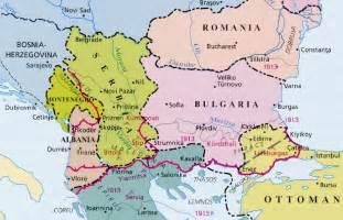 Maps Balkans War 1913