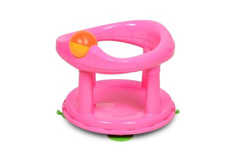 Mini Baby Safety Bath Seat Soft Mat Comfort Roller Ball Ergonomic Backrest Pink Chippendale Ribbon Back Dining Chairs Tufted Corner Chair Inside Hammock Motorized For Stairs Two People Z High Gliding Nursery Childrens Folding 2