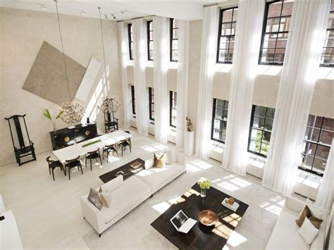 Minimalist Loft With Luxurious Details by 5 Luxurious Loft Living Spaces Real Estate Modern