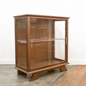Meuble Pour Verre : meuble vitrine bois verre plexiglas ~ Teatrodelosmanantiales.com Idées de Décoration