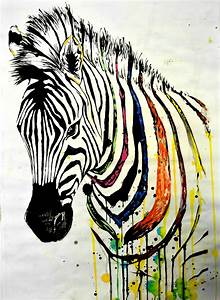 zebra_painting_by_lushinnickii-d7t2o20.jpg (1600×2190 ...