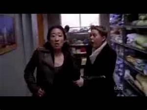 "Cristina/Meredith funny scene - ""RUN !"" - 5x06 - Grey's ..."