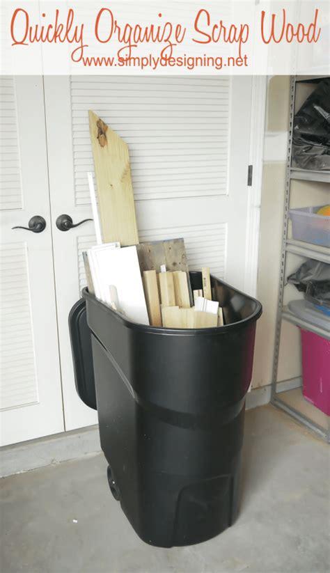 tips  organize  garage simply designing  ashley