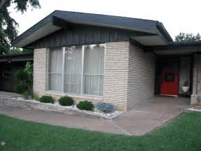 Mid Century Modern Ranch House Exterior