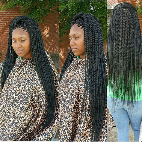 Single Twist Hairstyles by The 25 Best Senegalese Braids Ideas On