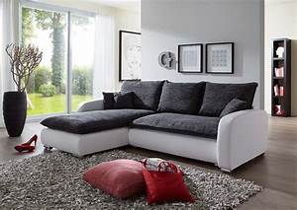 Couch Weiß Grau : sam ecksofa grau wei scala 24 sofa 180 x 260 cm ~ Watch28wear.com Haus und Dekorationen