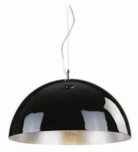 Pendelleuchte Schwarz Silber : moderne pendelleuchte 50 cm durchmesser in silber ~ Lateststills.com Haus und Dekorationen