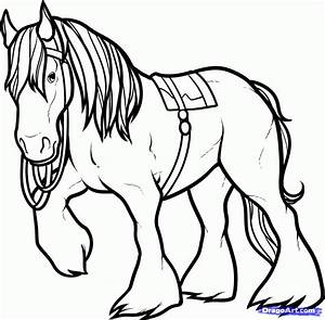 How to Draw Angus, Angus the Horse, Brave, Step by Step ...